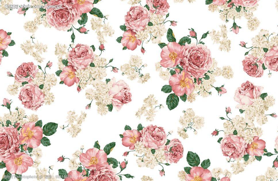 花紋花朵(此圖1層)